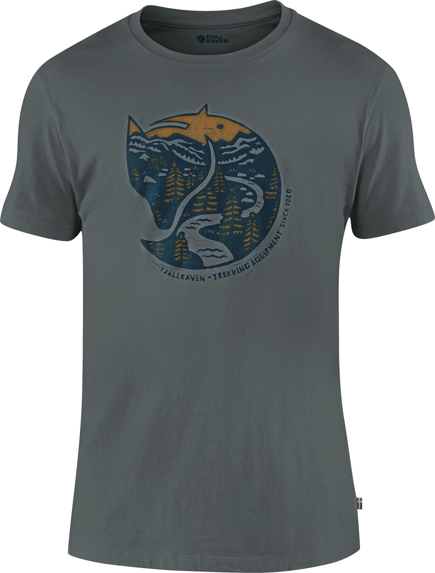 Fjällräven Arctic Fox T shirt Herrer, dusk